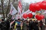 Тимошенко привітали з 8 Березня повітряними кульками
