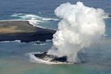 Біля берегів Японії в Тихому океані з'явився новий острів