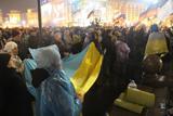 Вечірній Євромайдан. Зібралось близько трьох тисяч активістів