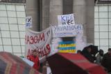 В центрі столиці тривають протести