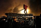 Фото дня. 21 січня. Протистояння у Києві, серія вибухів у Багдаді та інше