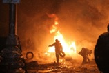Грушевського у вогні. Четверта ніч протистояння