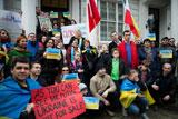 Акція солідарності із українськими мітингувальниками у Лондоні