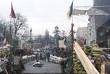Грушевського: свічки, валентинки та КПП