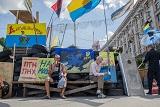 Залишки протестного Майдану в Києві