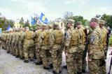 Батальон «Січ» вирушив на війну з вулиці Небесної Сотні
