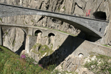Міст диявола Teufelsbrucke в Швейцарії
