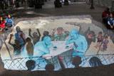 Оригінальні картини з 3-D ефектом на вулицях різних міст світу