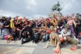 У Києві пройшов парад зомбі