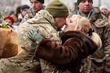 Київ зустрів військових, які повернулися з АТО