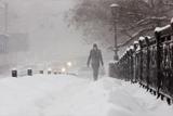 Потужний снігопад в Одесі