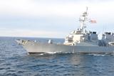 Українські ВМС провели спільне тренування з кораблем ВМС США