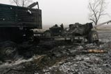 Українська артилерія завдала удару по колоні бойовиків