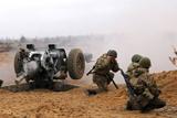 Бойові стрільби артилеристів Високомобільних десантних військ України