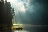 Озеро Синевир - голуба перлина карпатських лісів