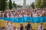 У Києві відбувся мегамарш вишиванок