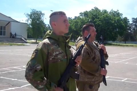 Бійці «Карпатської Січі» склали присягу й легалізувались в складі Збройних Сил України