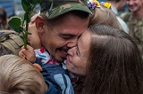 У Києві зустріли демобілізованих артилеристів 44-ї бригади