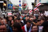 У Мінську пройшла хода з закликами бойкотувати вибори