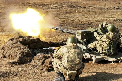 Українські десантники продемонстрували свою підготовку