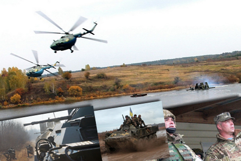 Військові навчання. Бойові заходи в ході рейдових дій в тилу умовного противника