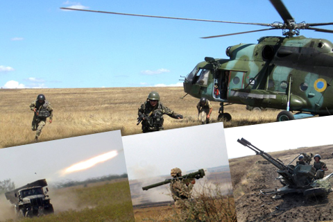 Бригадні навчання в оперативному командуванні «Південь»