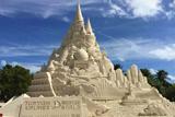 У США побудували найвищий у світі замок з піску