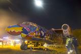 В аеропорту «Київ» встановили арт-літак Ан-24