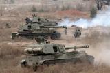 Бойові стрільби артилерії Збройних Сил України