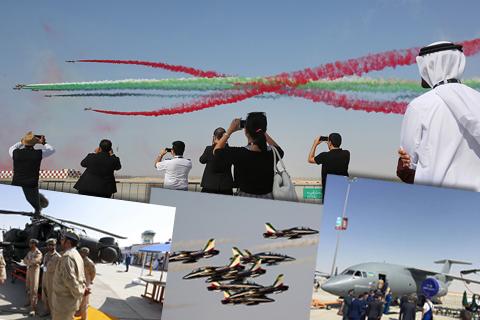У Дубаї відкрився міжнародний авіасалон