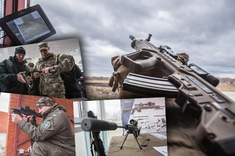 Під Києвом презентували новітнє озброєння для українських спецпризначенців