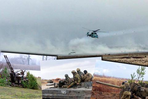Бригадні тактичні навчання мотопіхотної бригади оперативного командування «Північ»