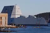 ВМС США випробували найбільший в історії есмінець типу USS Zumwalt