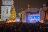 У Києві запалили вогні на головній новорічній ялинці