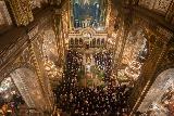 У Володимирському соборі відправили службу в надвечір'я Різдва Христового