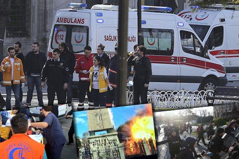 У центрі Стамбула прогримів потужний вибух