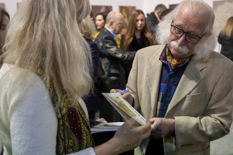 У Мистецькому Арсеналі відкрилася виставка художника Івана Марчука