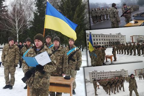У Житомирі курсанти навчального центру ВДВ склали Військову присягу