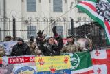 Під російським посольством у Києві пройшла акція протесту проти путінського терору