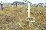 Кладовище бойовиків ДНР в Донецьку. Сотні безіменних могил