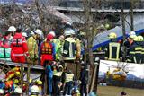 У Німеччині зіштовхнулися два пасажирські потяги, є загиблі