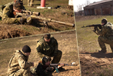 Практичні стрільби особового складу сил територіальної оборони Миколаївщини