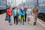 У Києві зустріли демобілізованих військових із Донбасу