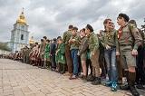 У Києві відзначили 104-ту річницю Пласту