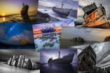 Містичні фотографії кораблів, що сіли на мілину