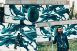 Португальський стріт-арт художник намалював перший символічний мурал у Чорнобилі