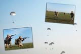 «Крилата-піхота» відпрацювала стрибки з парашутом та знищення ворога з повітря