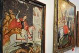 У Львові представили виставку «Юрій Змієборець і святі воїни»