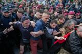 Сутички на акції до Дня перемоги в Києві
