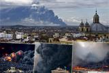На околицях Мадриду загорілося звалище шин площею близько 10 гектарів
